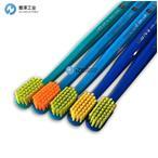来自瑞士的Curaprox彩虹牙刷-5支装蓝色系牙刷