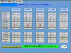 纺织化纤HVAC空调暖通控制系统空调数据
